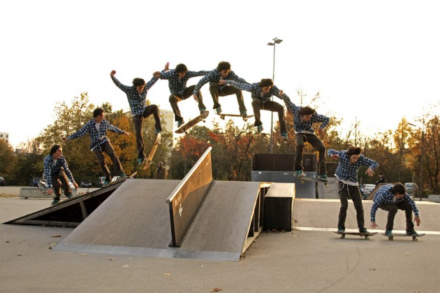 huge ollie sequence